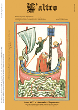 L'Altro, Anno XIX, n. 1 Gennaio-Giugno 2016